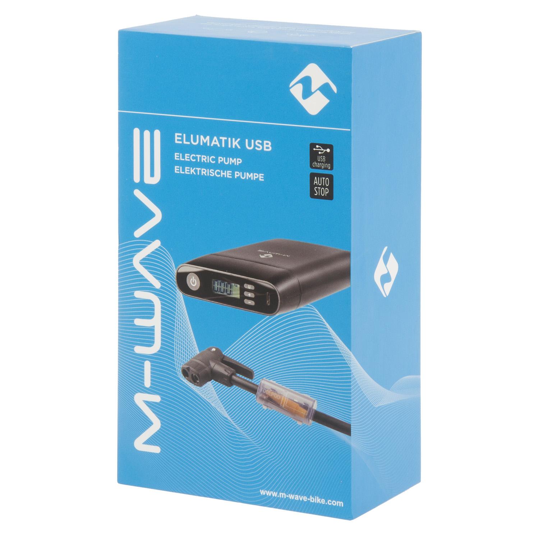M-WAVE Elumatik USB Akku-Minipumpe