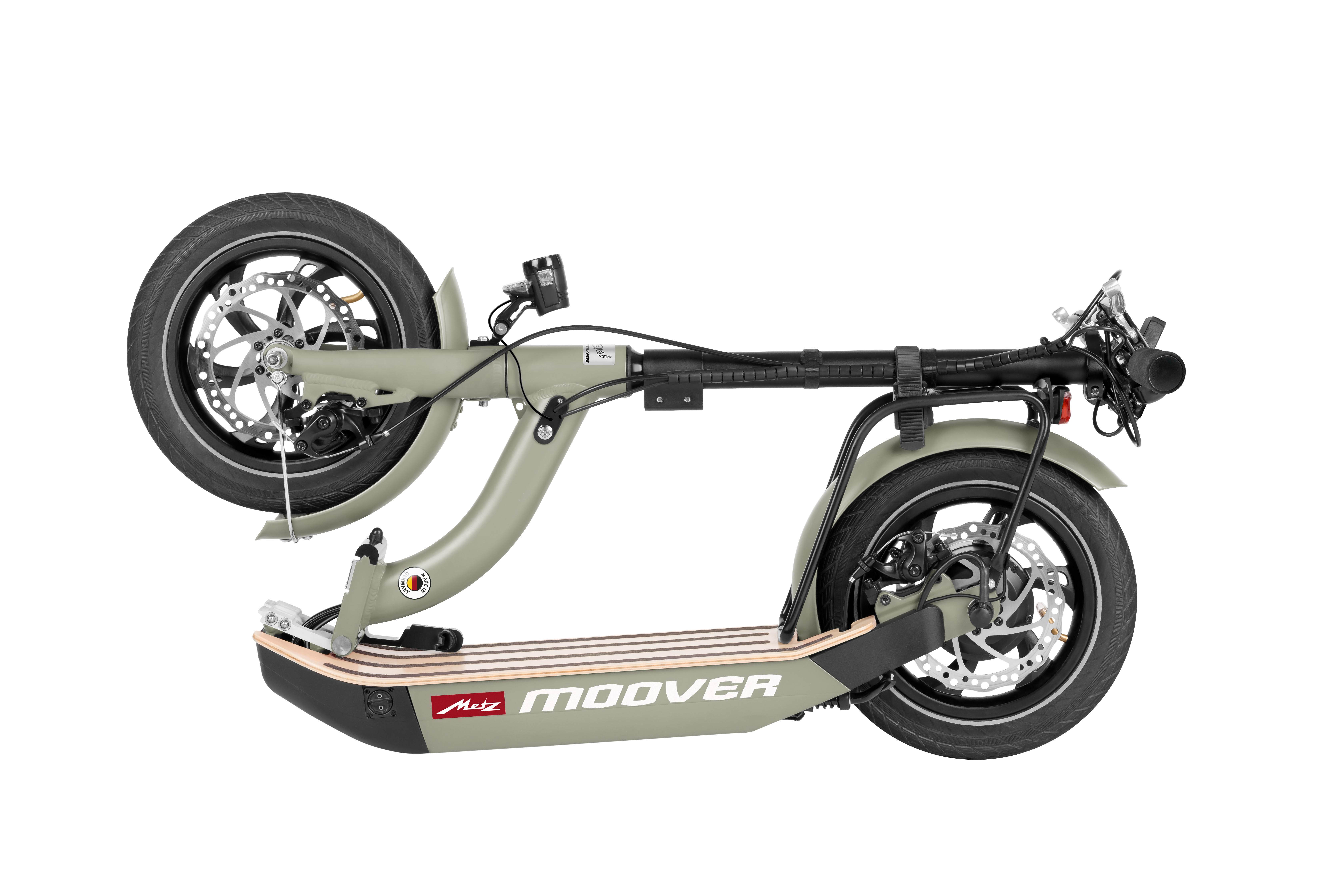 E-Scooter Metz Moover mit Zulassung