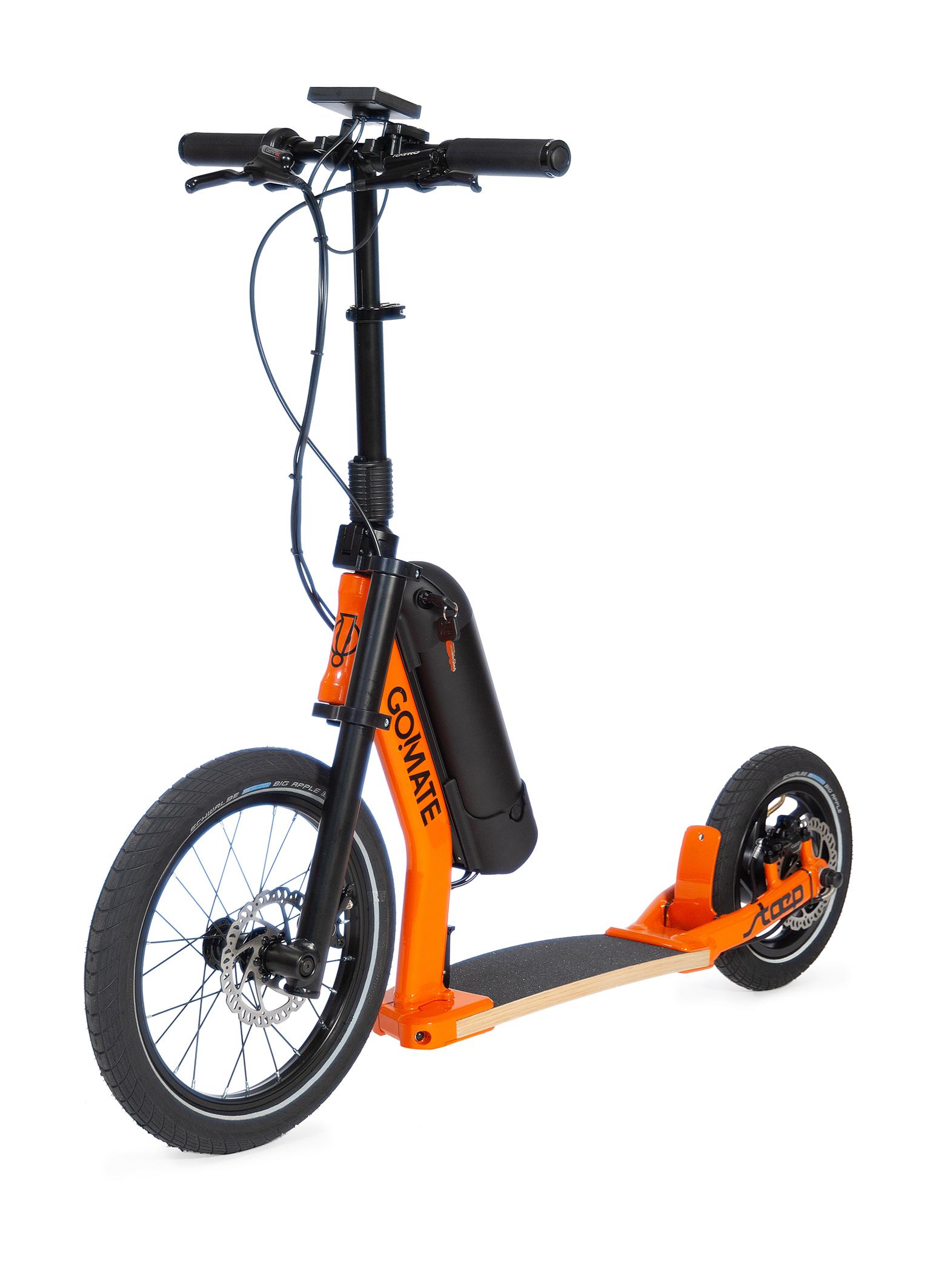 E-Scooter GO!MATE stæp ER2 mit Strassenzulassung