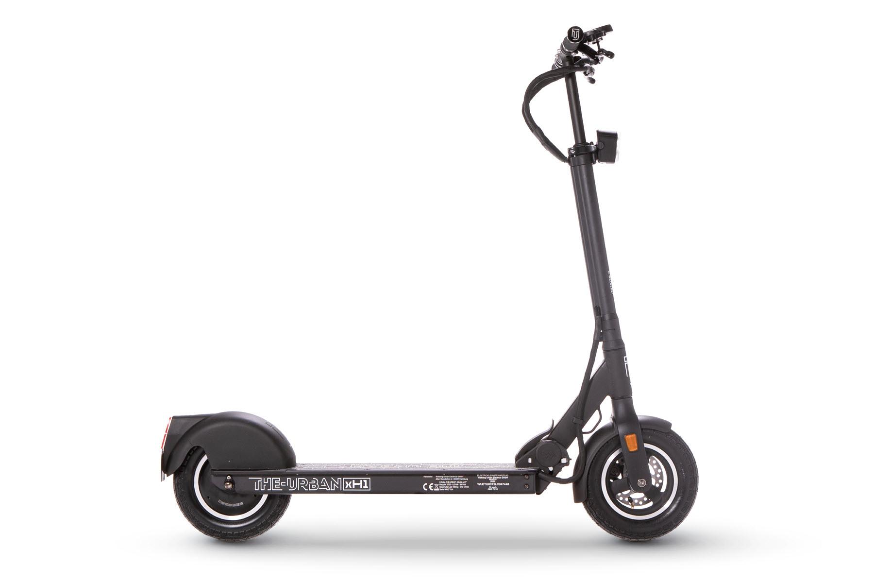 E-Scooter THE-URBAN xH1 mit Straßenzulassung nach eKFV