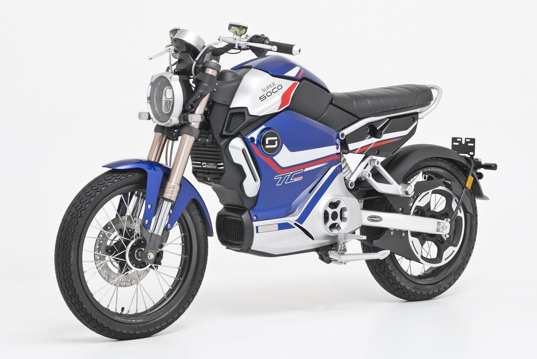 E-Motorrad SUPER SOCO TC Pro - Limited Edition - mit Straßenzulassung