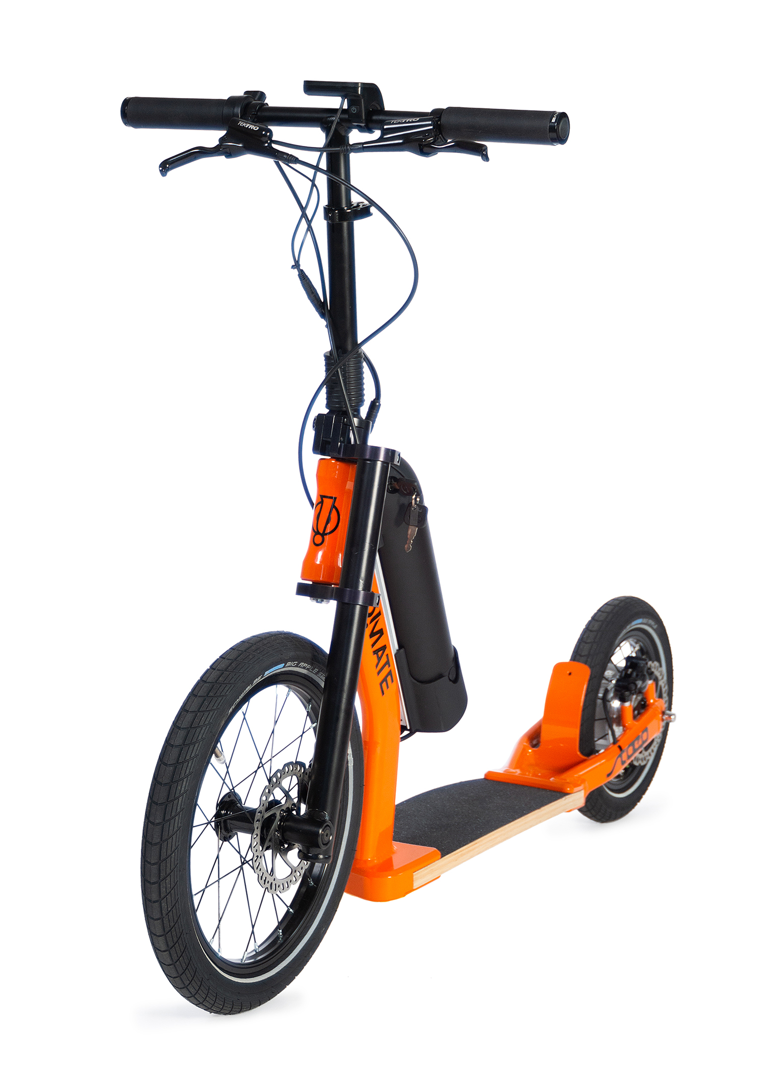 E-Scooter go!mate stæp ER2 PLUS mit Strassenzulassung